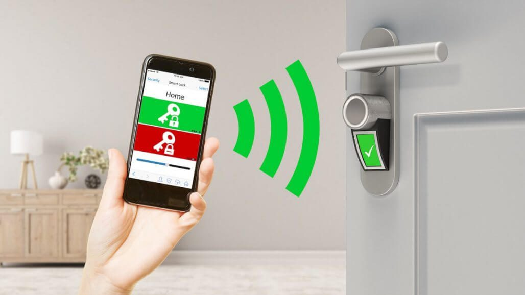 smart lock smart homes security devices