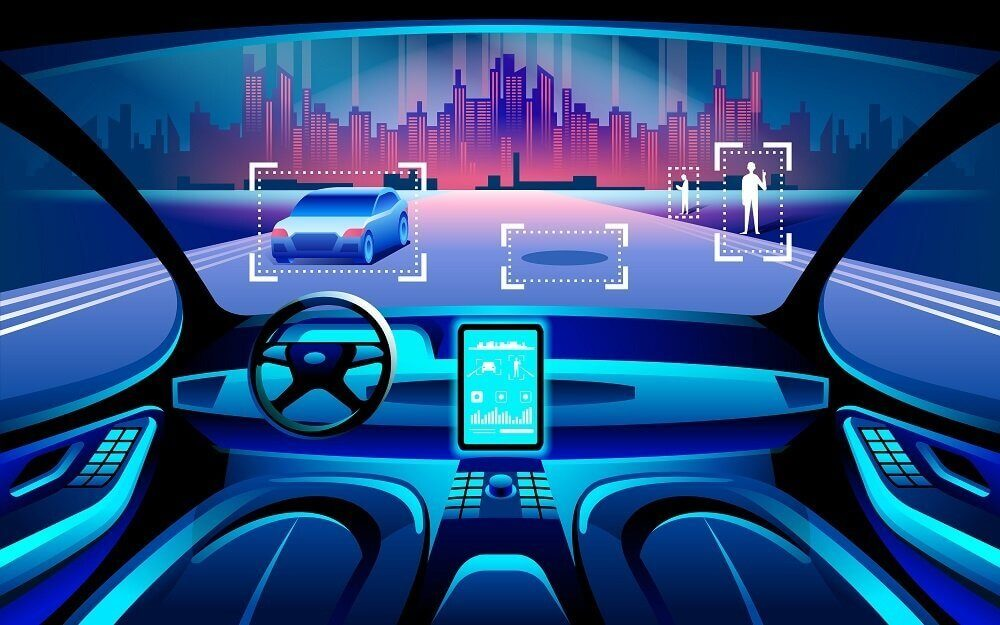 how self-driving cars recognize traffic objects