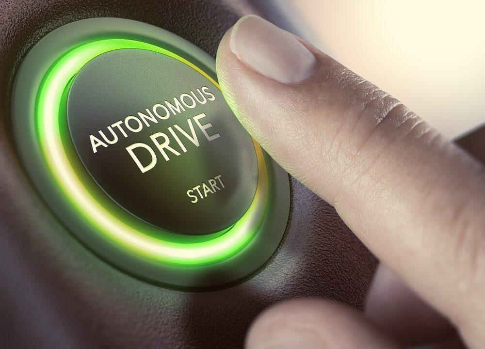 start an autonomous car drive