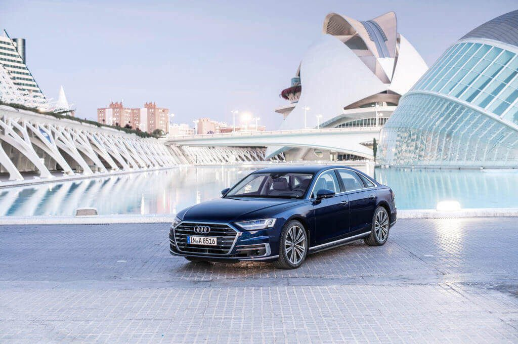 Audi A8 one of the best self-driving cars