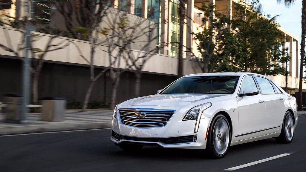 cadillac ct6 driverless car