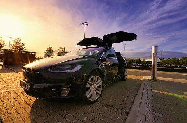 Tesla model X self driving cars company