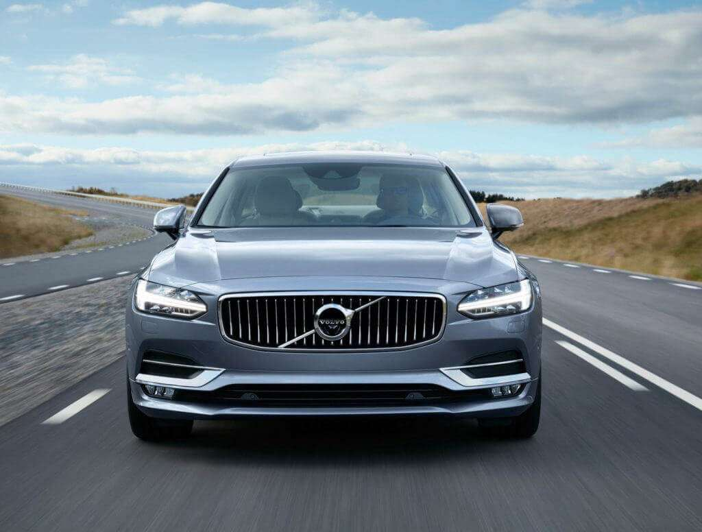 Volvo S90 self-driving car