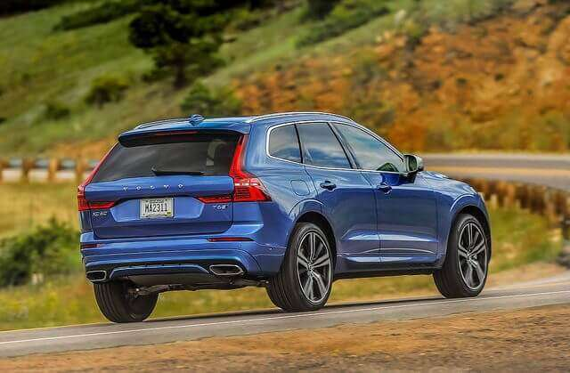 Volvo XC60 self-driving cars