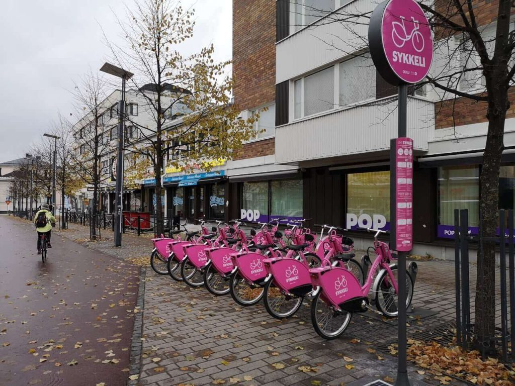 Smart bicycles in Oulu, Finland
