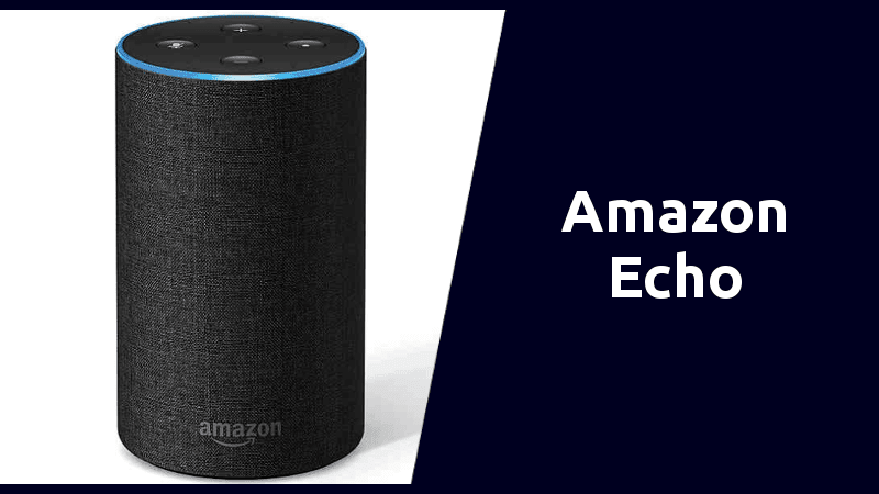 amazon echo smart speaker alexa