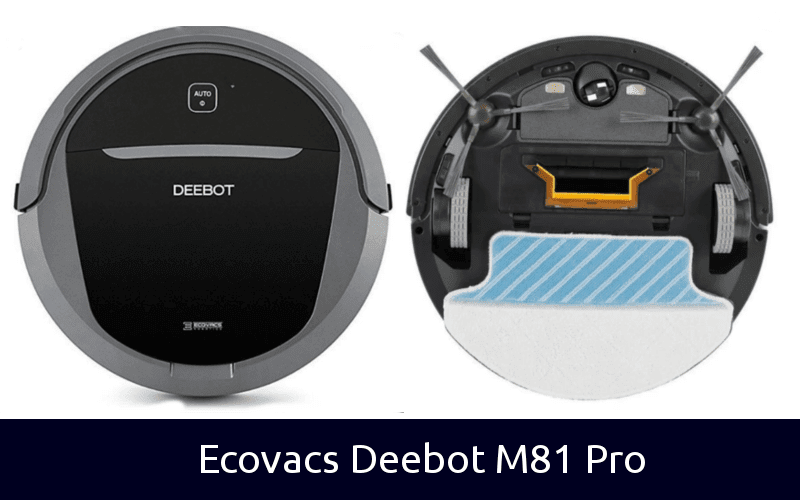 ECOVACS DEEBOT M81Pro Robotic Vacuum Cleaner with Strong Suction, for Pet Hair