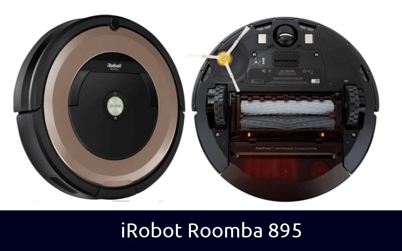 iRobot Roomba 985 back and front