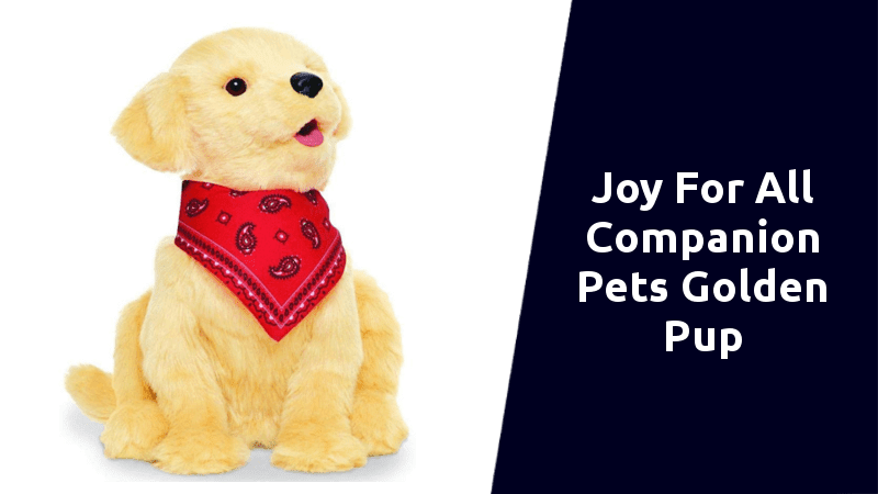 Ageless Innovation Joy For All Companion Pets robot dog for kids and adults