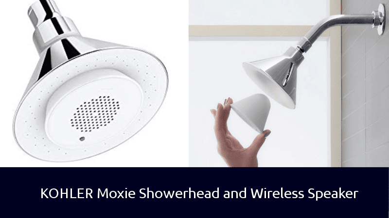 KOHLER Moxie Showerhead and Wireless Speaker