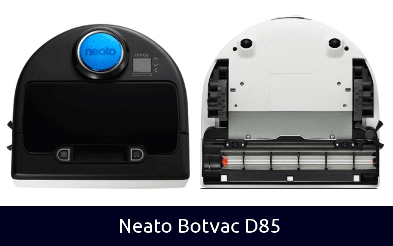 Neato Botvac D85 back and front