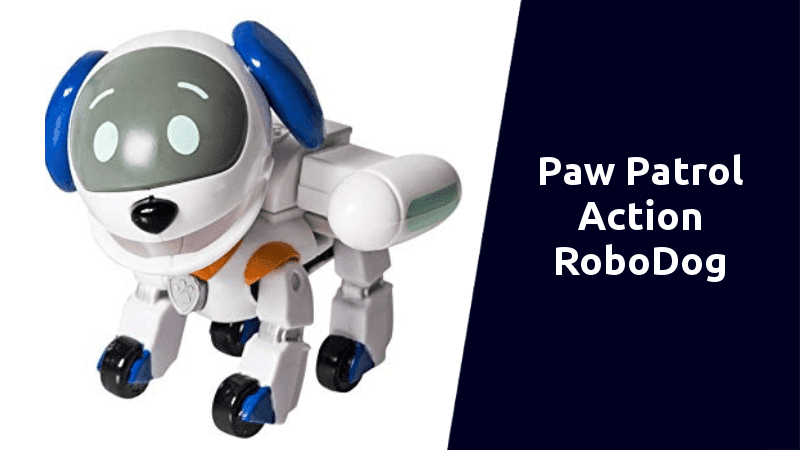 Paw Patrol Action Pack Robodog