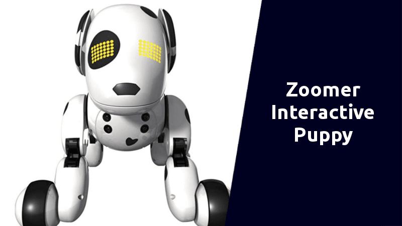 zoomer interactive puppy best robot dogs
