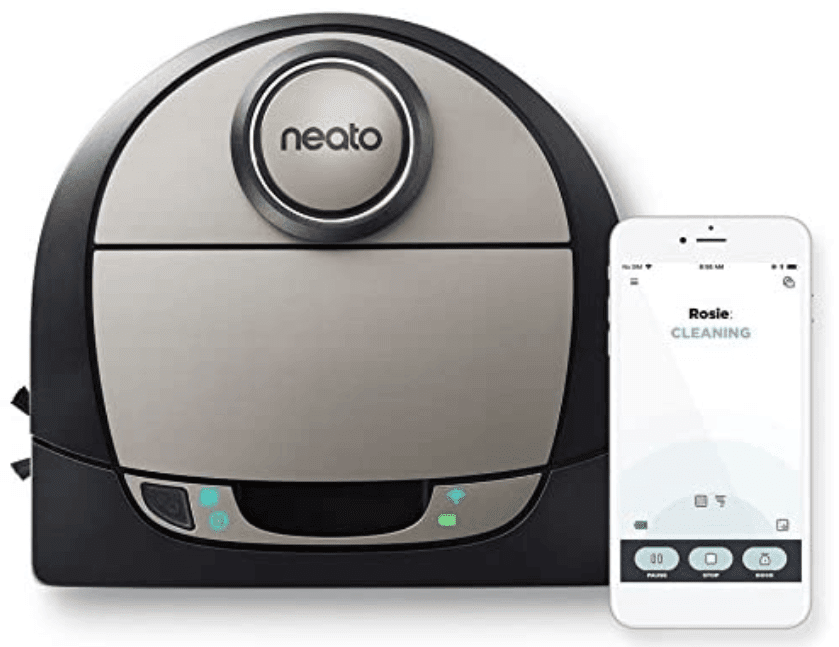 neato botvac d7 robot vacuum for pet hair