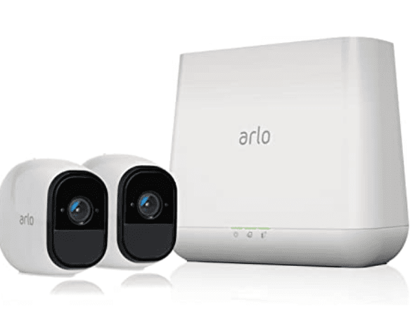 Arlo Pro - Wireless Home Security Camera System with Siren. Rechargeable, Night vision, Indoor/Outdoor