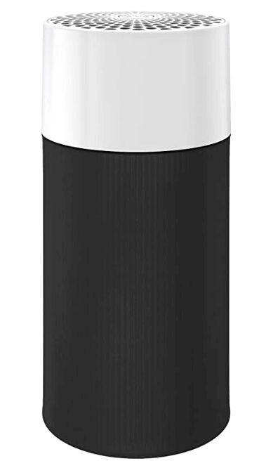 Blue Pure 411 Air Purifier with Two Washable Pre-Filters, Particle, Carbon Filter, Captures Allergens, Viruses, Odors, Smoke, Mold, Dust, Germs
