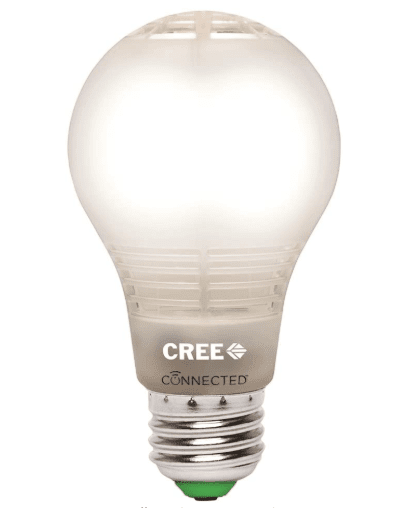 Cree A19 Dimmable LED Light Bulb for smart home lighting system