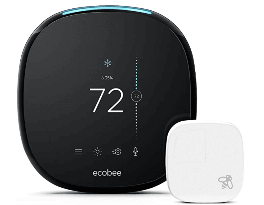 The Ecobee smart thermostat works well with Alexa