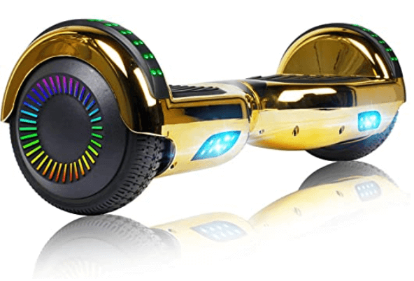 Felimoda Hoverboard w/Bluetooth Speaker and LED Wheels Side Lights