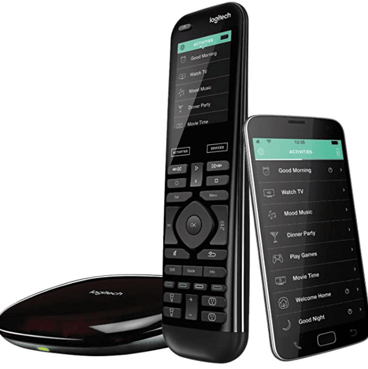 Logitech Harmony Remote smart remote for TV and other devices google home accessories