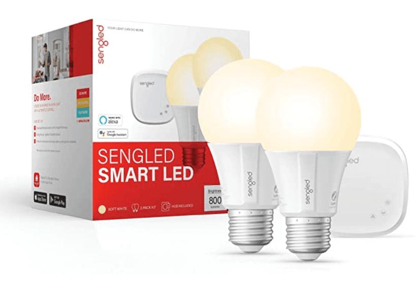 Sengled Smart Light Bulb Starter Kit for home automation lighting system
