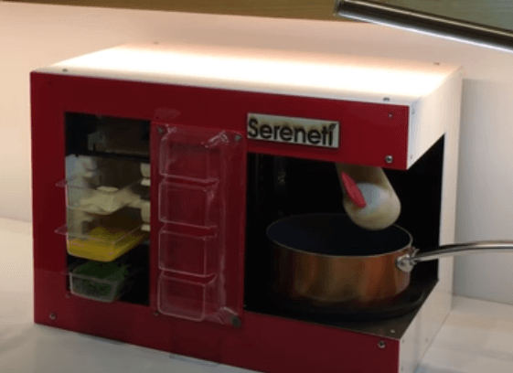 Sereneti Kitchen's Cooki cooking robot