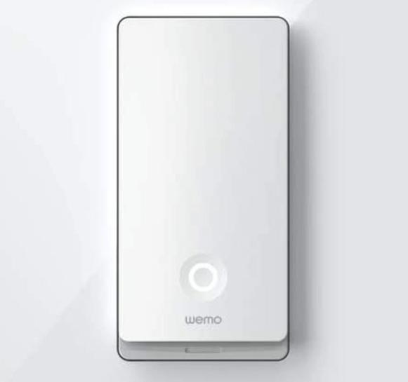 wemo light switch smart lighting smart home