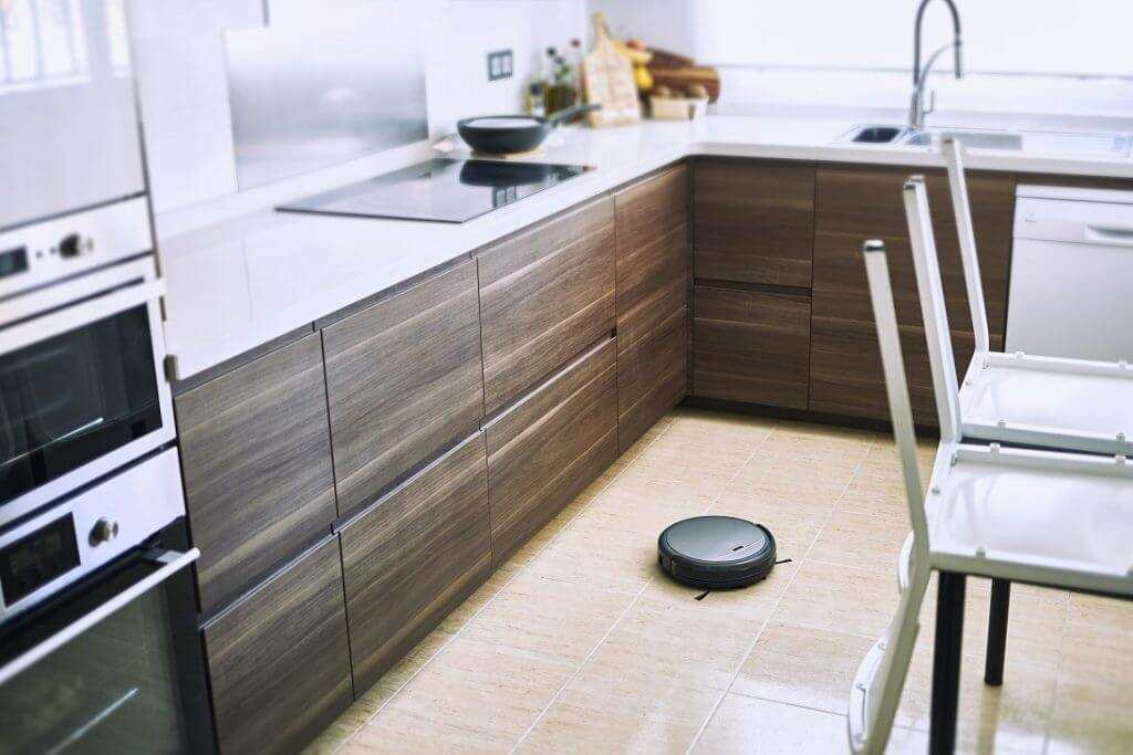 roomba for tile floors in the kitchen