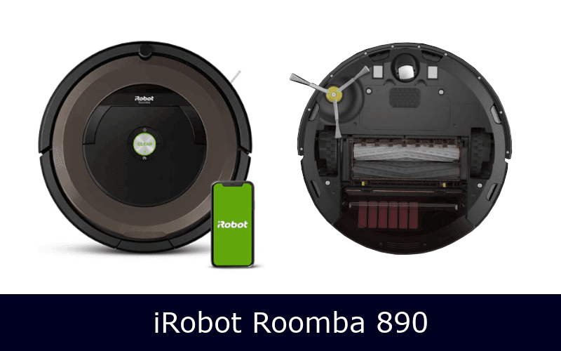 iRobot Roomba 675 front and back