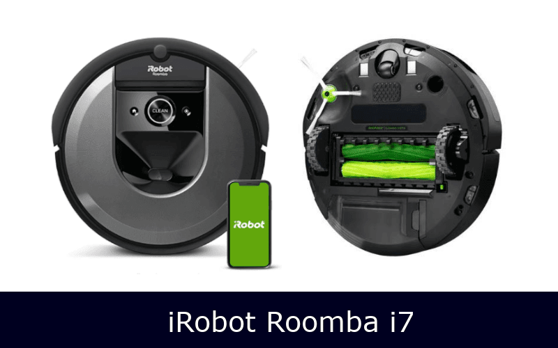 irobot roomba i7 front and back