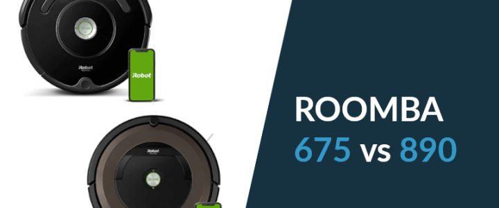 iRobot Roomba 675 vs. 890: Which One is Better? [+COMPARISON TABLE]