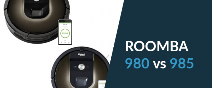 Roomba 985 vs. Roomba 980: A Comparison Worth Having