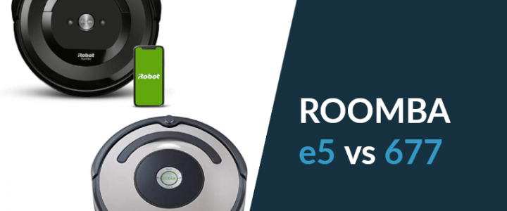 Roomba e5 vs Roomba 677: Which One is Best for You? [+COMPARISON TABLE]