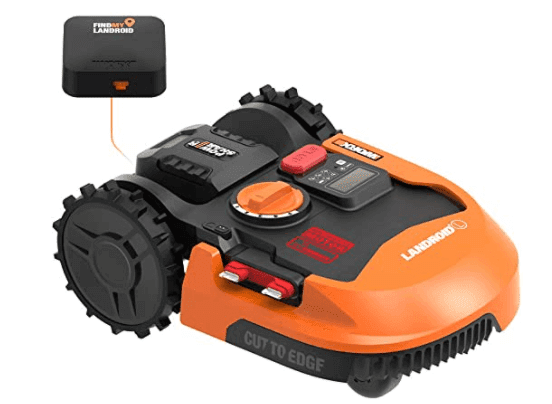 Worx WR153 Landroid L 20V Power Share Robotic Lawn Mower with GPS Module Included