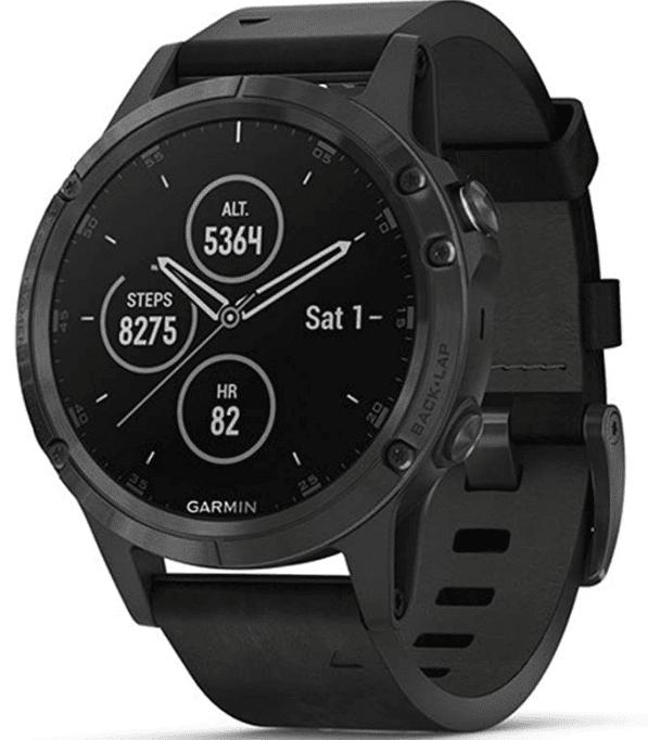 Garmin Fenix 5 plus mountain watch