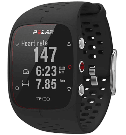 Polar M430 mountain watch for mountain biking