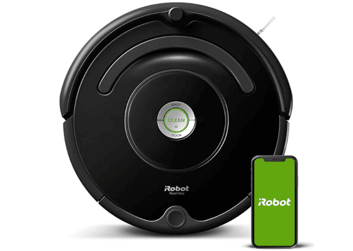 The Roomba 671 stands out because of its modern design and look