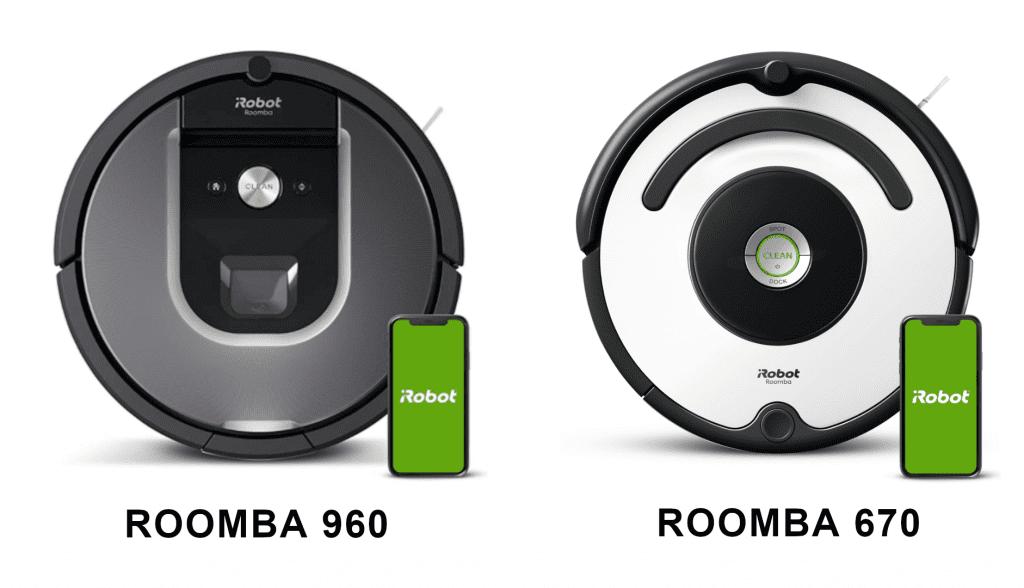roomba 960 vs 670