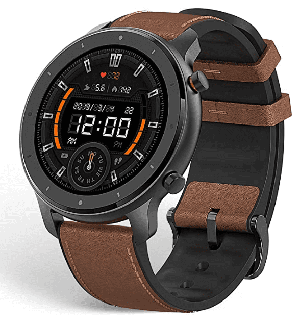 Amazfit GTR Smartwatch has a long battery life