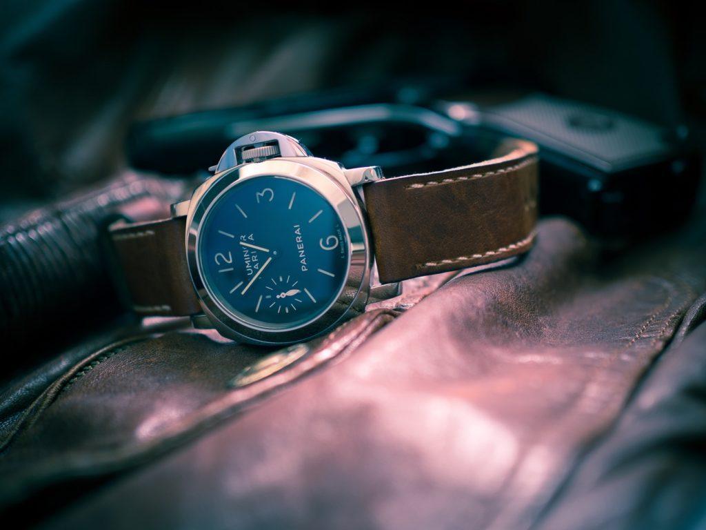 The Panerai watch