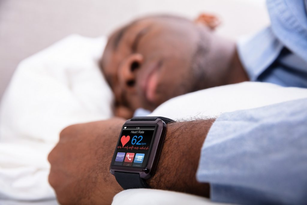 Sleep monitoring with smartwatch