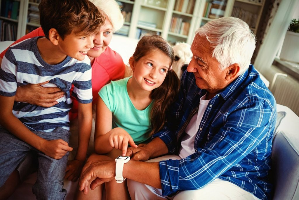 Smartwatch are used by the elderly