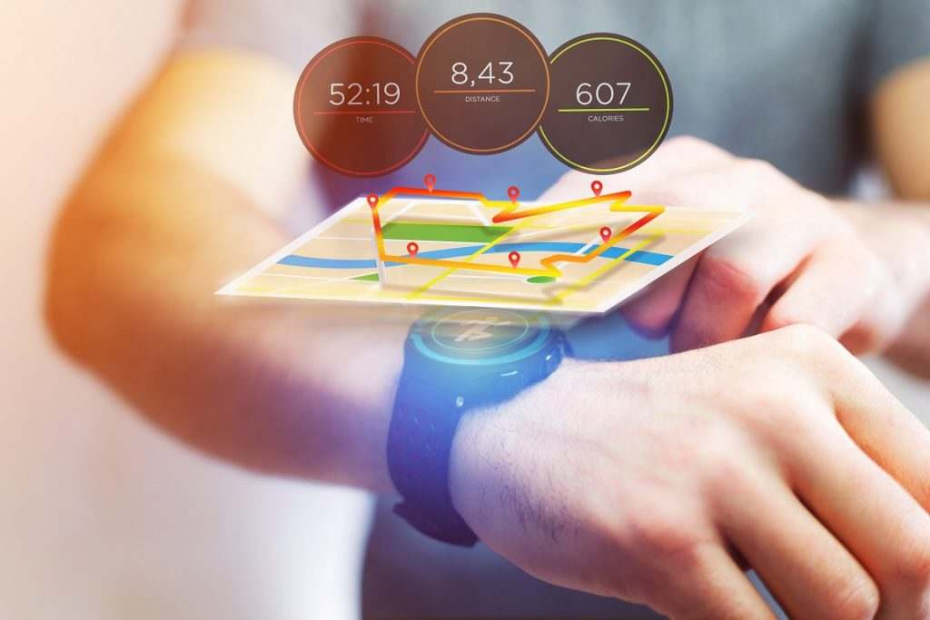GPS is one of the metrics with high accuracy on smartwatches.