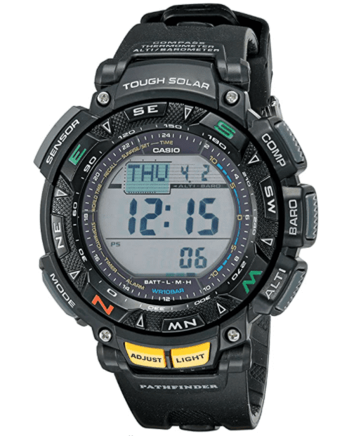 Casio Pathfinder Triple Sensor Multifunction Sport Watch for long distance and day hiking