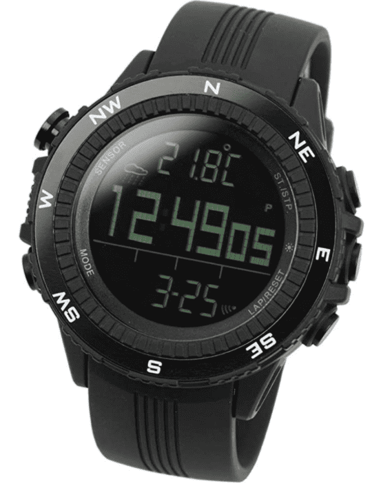 Lad Weather Altimeter Watch: best smartwatch for hiking with budget