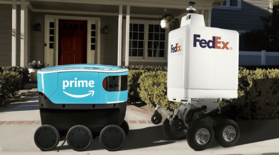 robot delivery fedex