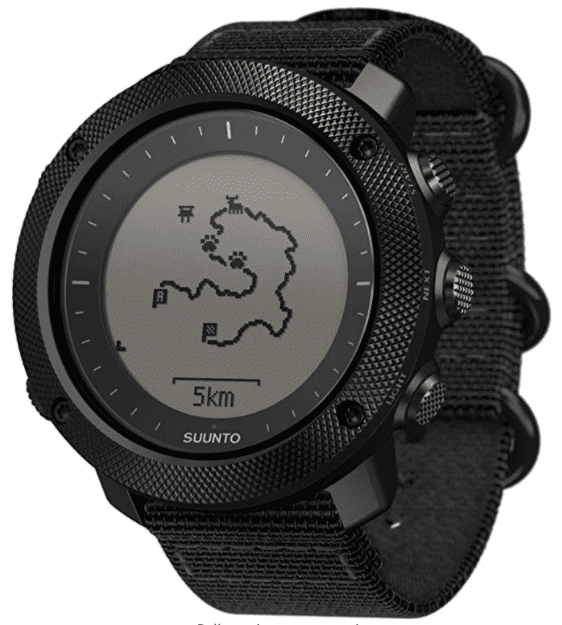Suunto Traverse Alpha Stealth: best for people who are passionate about fitness and health