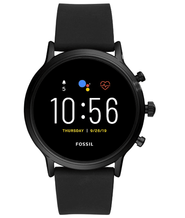 The overall best smartwatch for Google Pixel: Fossil Gen 5 Carlyle Stainless Steel Touchscreen Smartwatch
