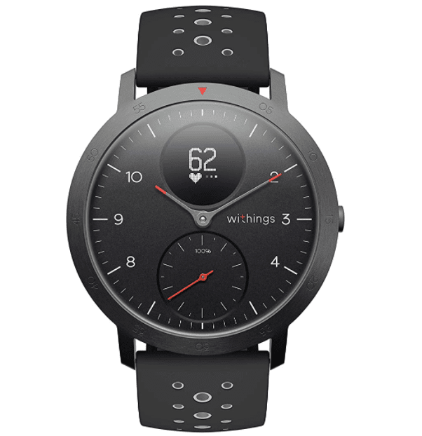 Withings Steel HR Sport - Multisport Hybrid Smartwatch