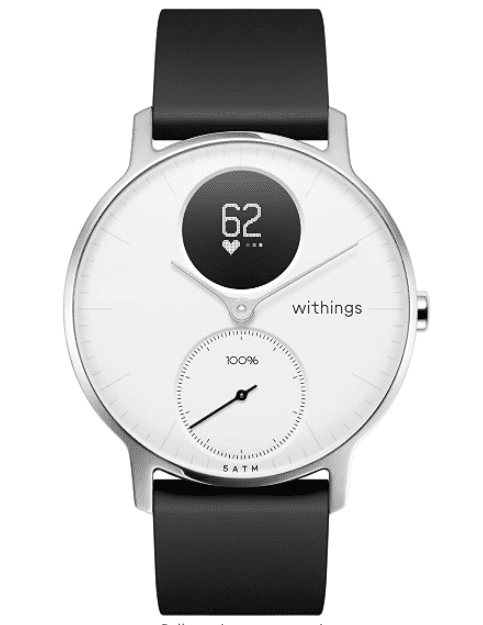 Withings Steel HR Hybrid Smartwatch - smartwatch that works with iphone